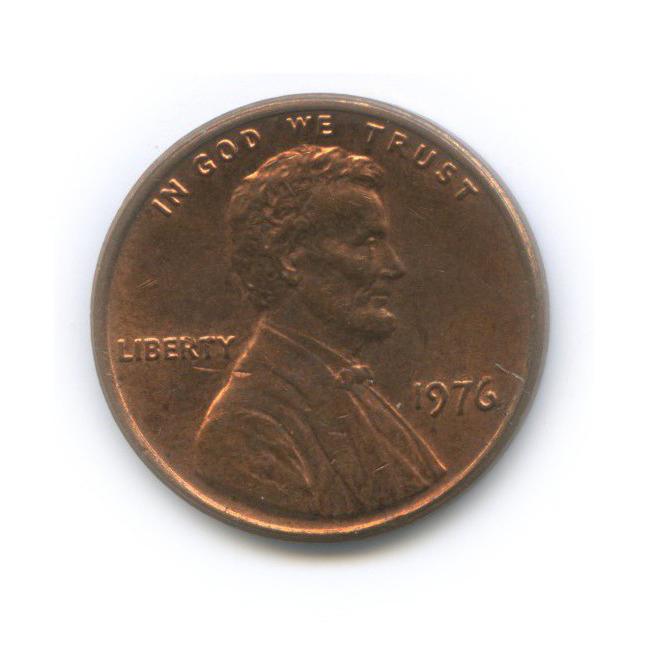 1 цент 1976 года (США)