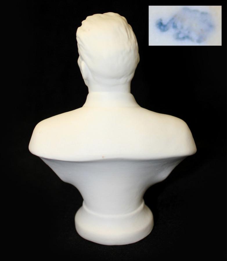 Бюст «М. Горький» (ЛФЗ, фарфор), 11 см (Россия)