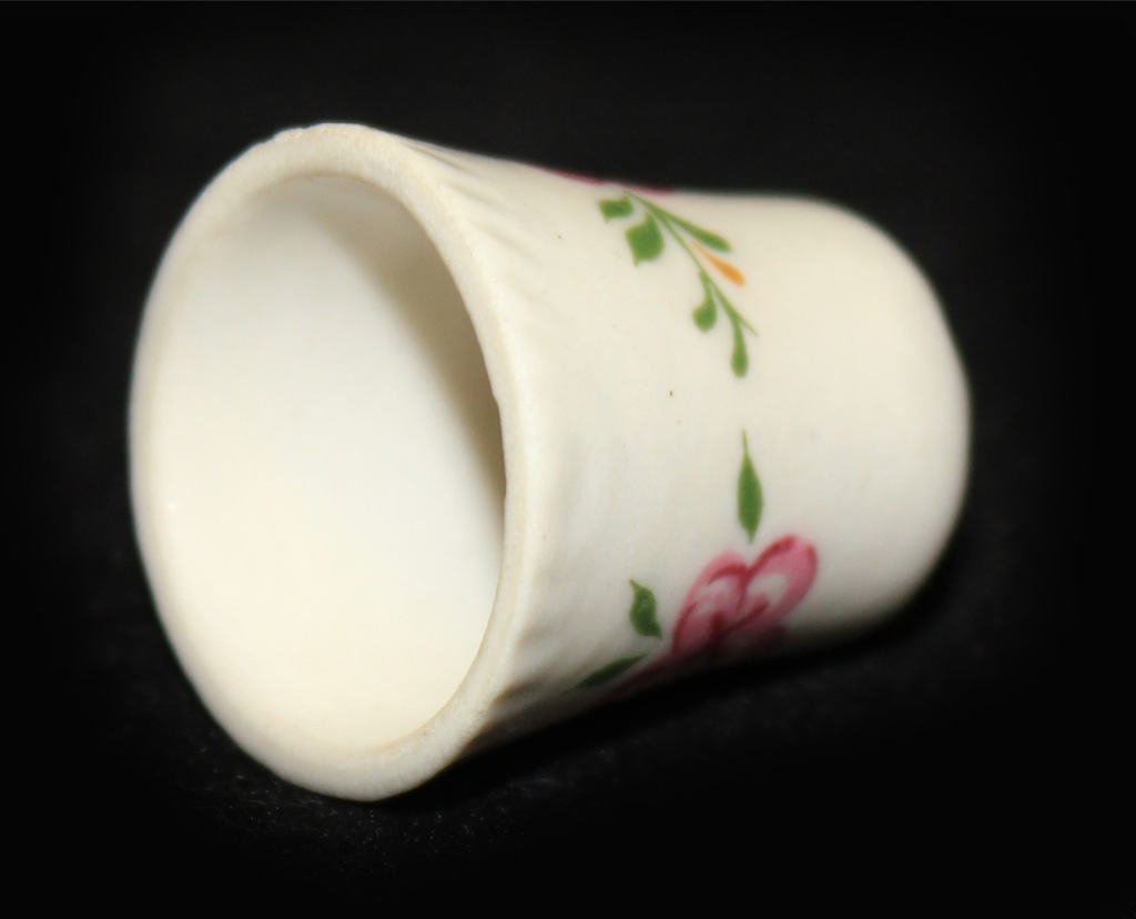 Наперсток коллекционный (ЛФЗ, фарфор), 2,8 см