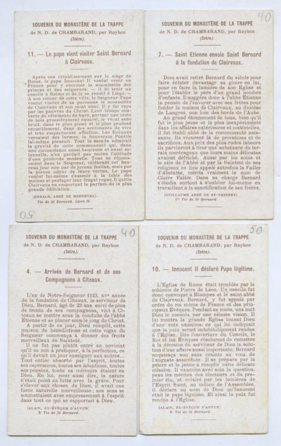 Набор католических открыток (Франция)