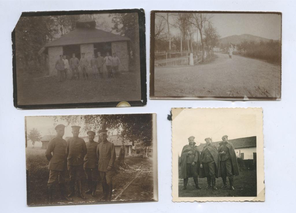 Набор фотографий времен Первой мировой войны