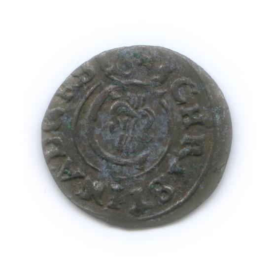 Солид - Королева Кристина, Ливония 1648 года