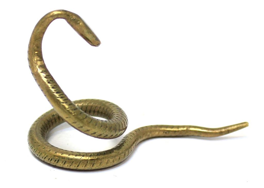 Фигурка «Змея» (бронза, 3 см)