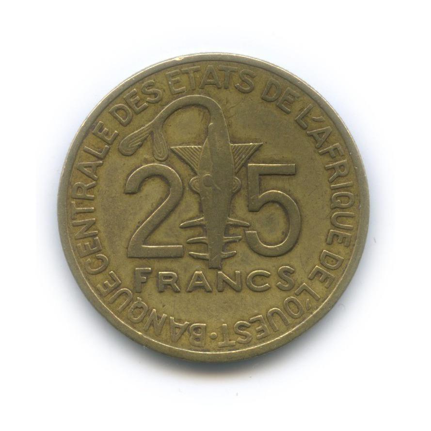 25 франков, Французская Западная Африка 2007 года
