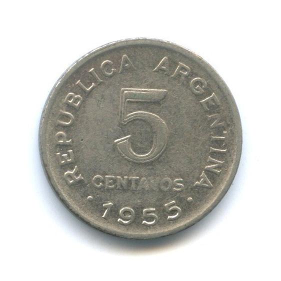 5 сентаво 1955 года (Аргентина)