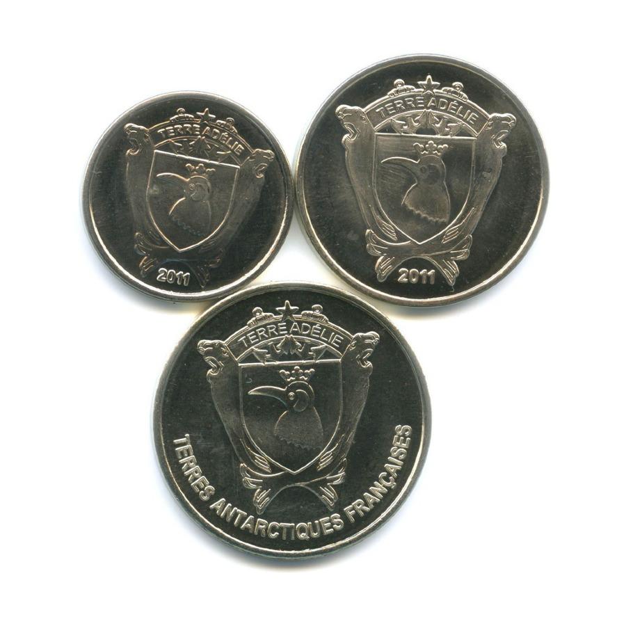 Набор монет - Животные, Земля Адели 2011, 2013