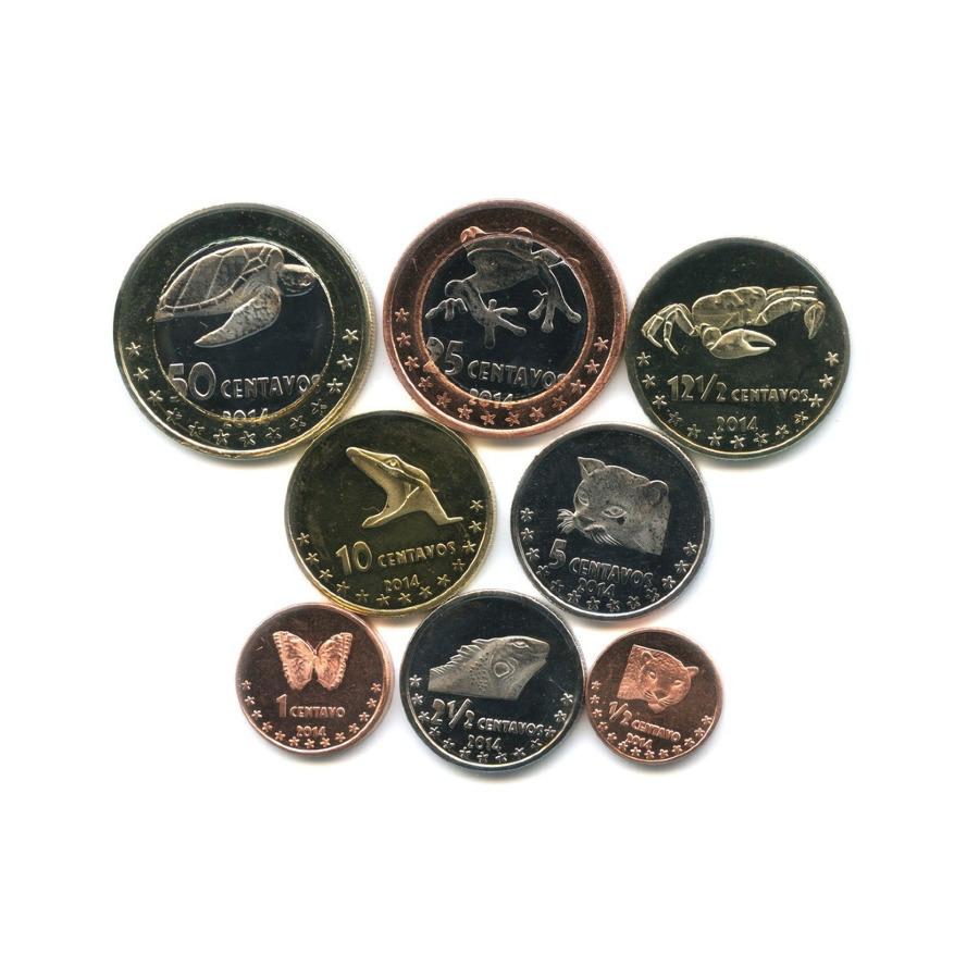 Набор монет - Фауна, Кокосовые острова 2014 года