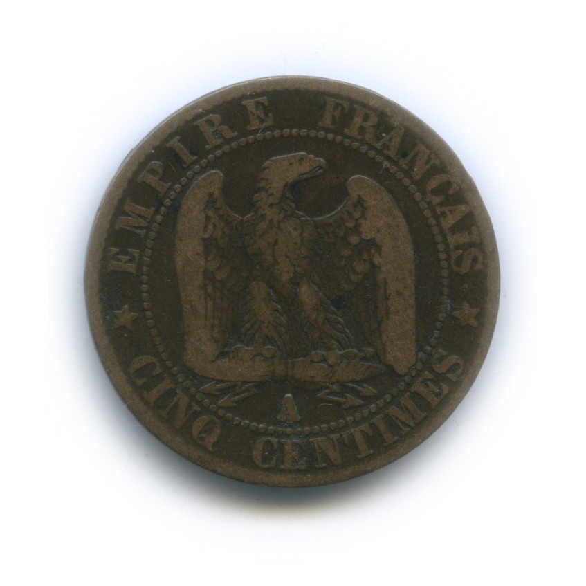 5 сантимов - Наполеон III 1856 года (Франция)