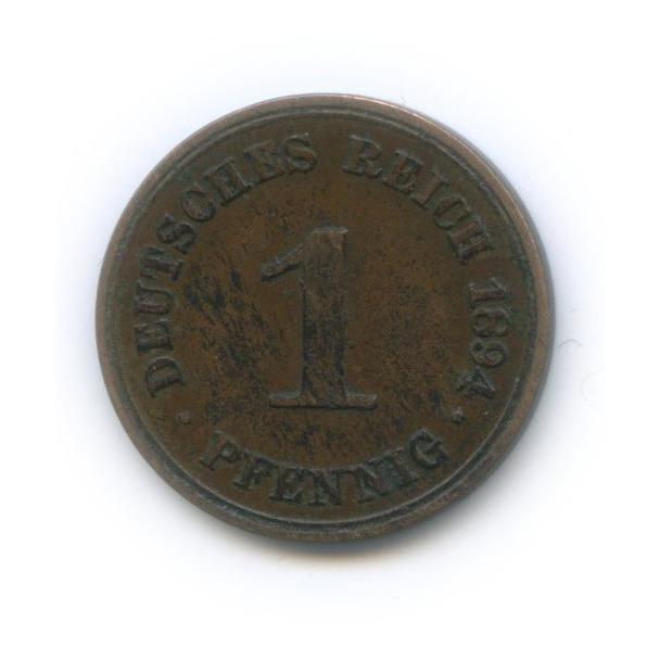 1 пфенниг 1894 года А (Германия)