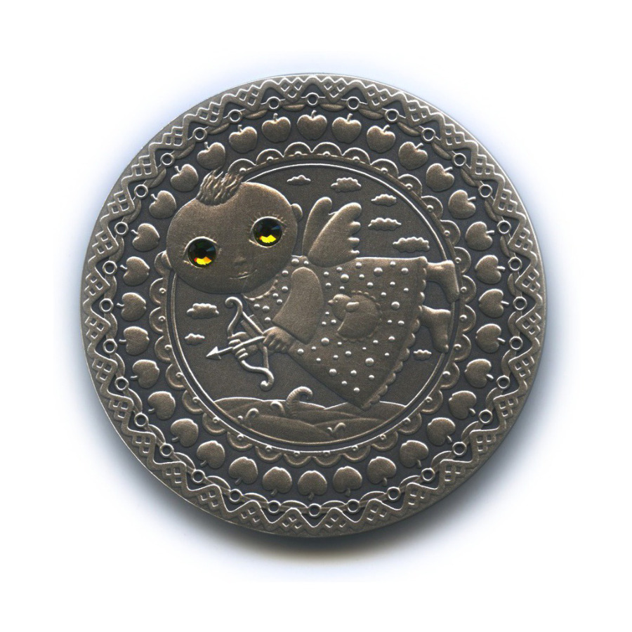 20 рублей - Знаки зодиака - Стрелец (с сертификатом) 2009 года (Беларусь)