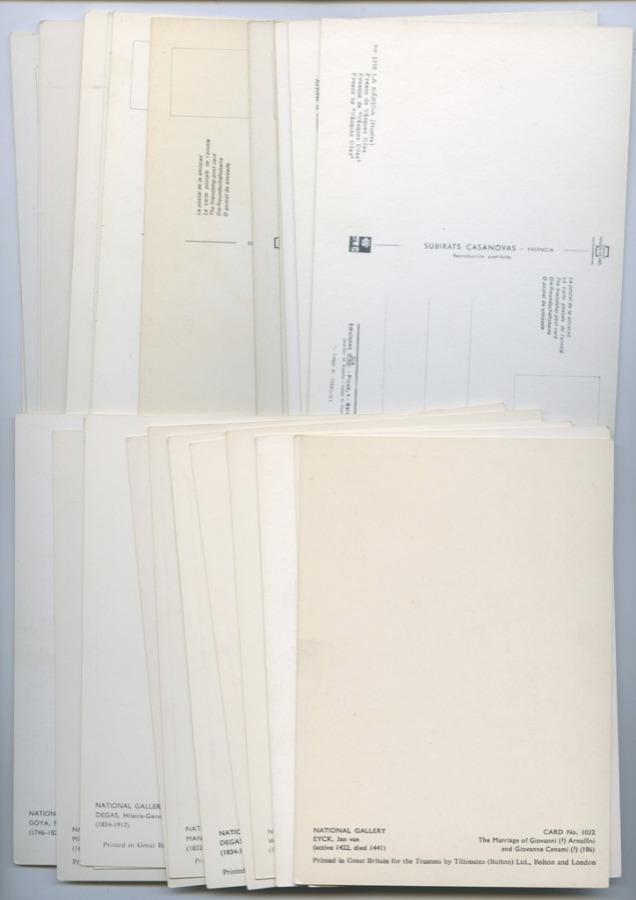 Набор почтовых карточек «Искусство» (30 шт.)