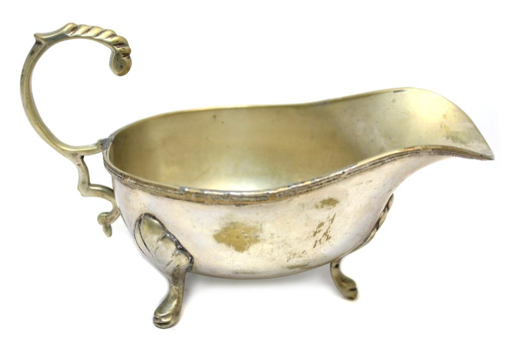Соусник (серебрение, 9×15,5 см) (Великобритания)