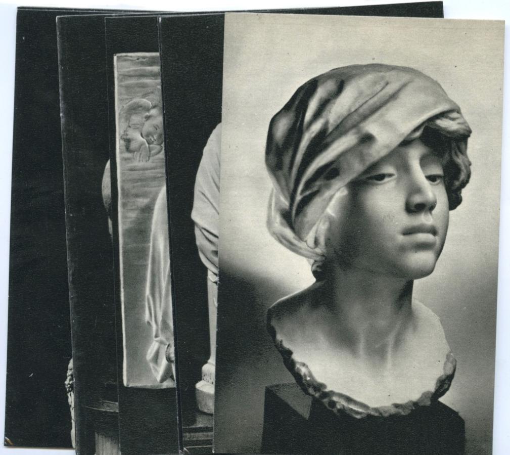 Набор открыток «Западно-европейская скульптура» (12 шт.) 1971 года (СССР)