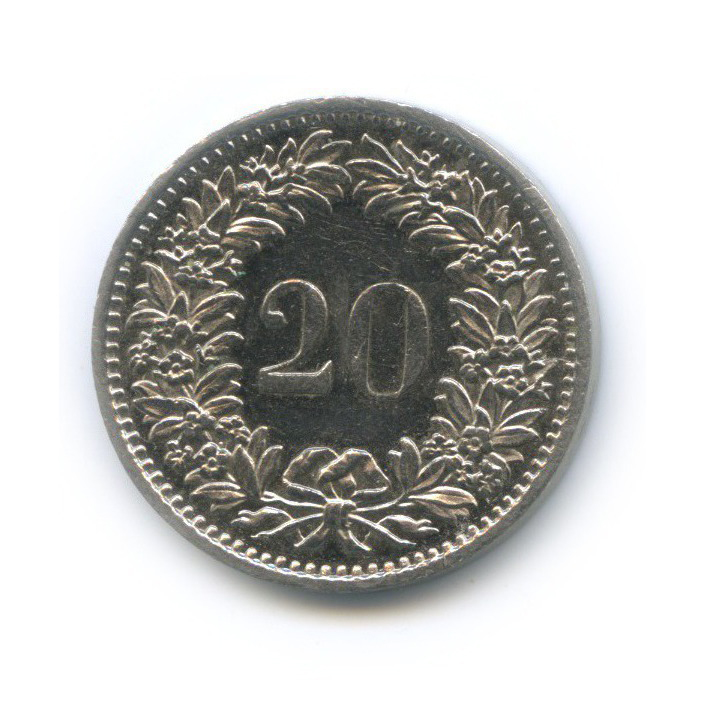 20 раппен 1979 года (Швейцария)