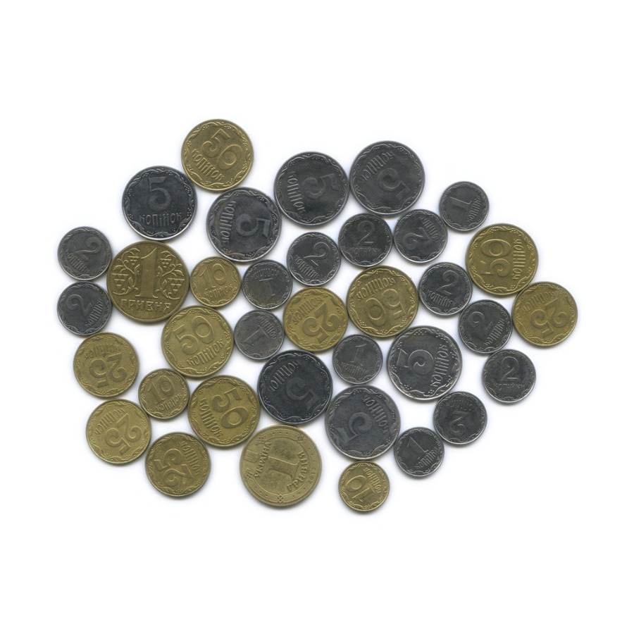 Набор монет (36 шт.) (Украина)