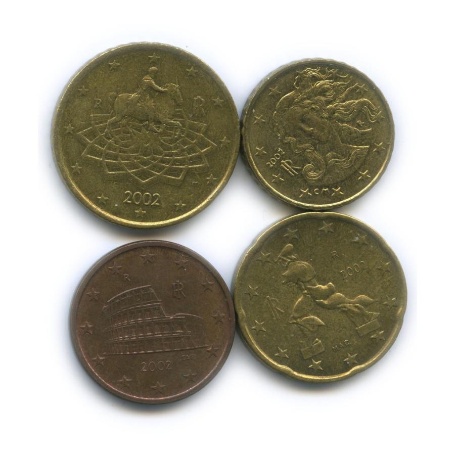 Набор монет 2002 года (Италия)