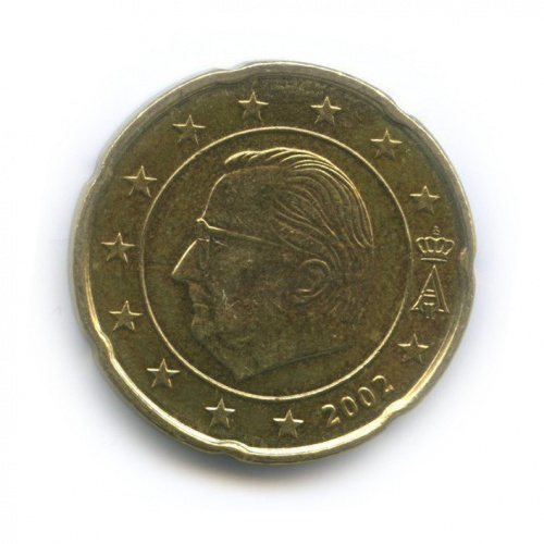 20 центов 2002 года (Бельгия)