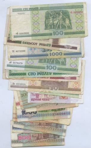 Набор банкнот 1992, 2000 (Беларусь)