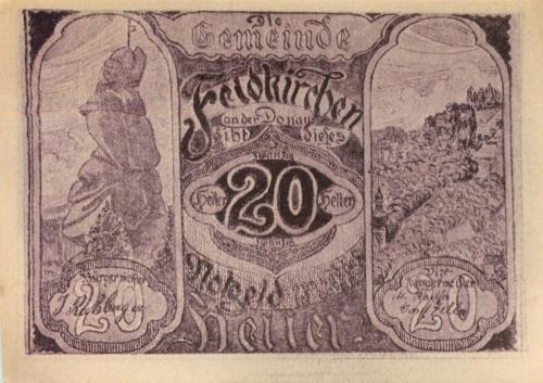 20 геллеров (нотгельд) (Австрия)