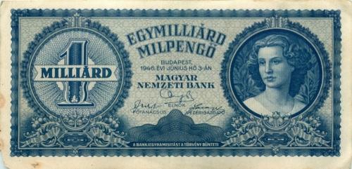 1 миллиард милпенгё 1946 года (Венгрия)