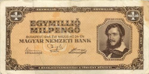 1 миллион милпенгё 1946 года (Венгрия)