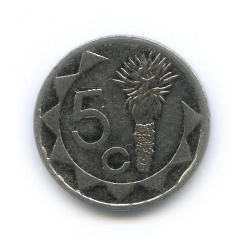 5 центов, Намибия 1993 года