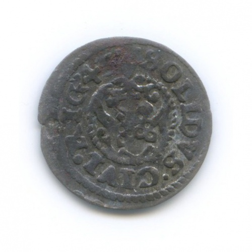 Солид - Королева Кристина, Рига 1643 года