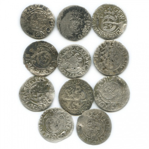 Набор монет, Средневековье