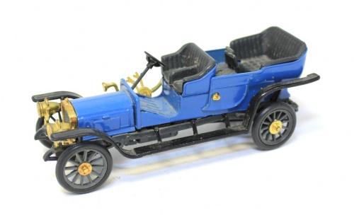Модель машины «Руссо-Балт С24-30 дубль фаэон 1909 г.» (10 см) (СССР)
