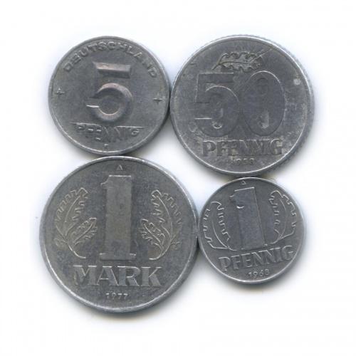Набор монет (Германия (ГДР))