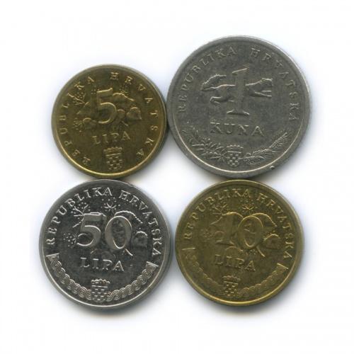 Набор монет (Хорватия)