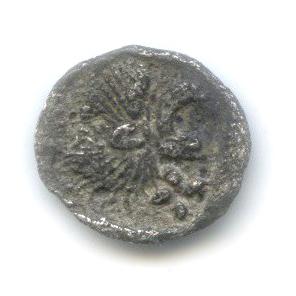 Гемиобол - Мизия (Кизик), 480-450 гг. до н. э., лев/кабан