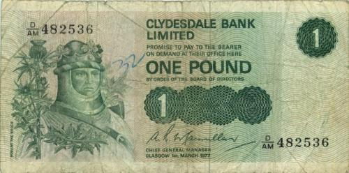 1 фунт 1977 года (Великобритания)