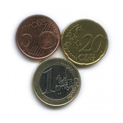 Набор монет 2002 года (Финляндия)