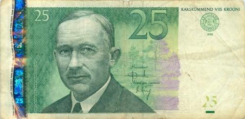 25 крон 2002 года (Эстония)