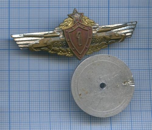 Знак нагрудный «Механик-водитель танков исамоходно-артиллерийских установок», 1-й класс (СССР)