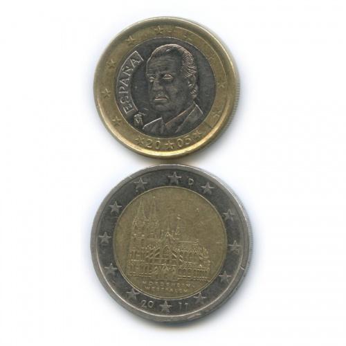 Набор монет 2005, 2011 (Испания)