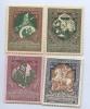 Набор марки-деньги «Впользу воинов иихсемейств» (чистые) (Российская Империя)