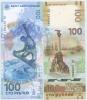 Набор банкнот 100 рублей 2014, 2015 (Россия)