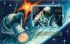 Марка почтовая «15-летие первого выхода человека воткрытый космос» 1980 года (СССР)