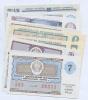 Набор лотерейных билетов (10 шт.) (СССР)