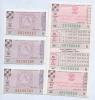Набор лотерейных билетов 1975-1977 (СССР)