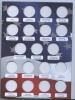 Альбом для монет «Памятные монеты США, 25 центов - Штаты» (57 ячеек) (Россия)