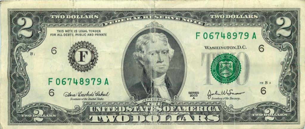 2 доллара 2003 года (США)