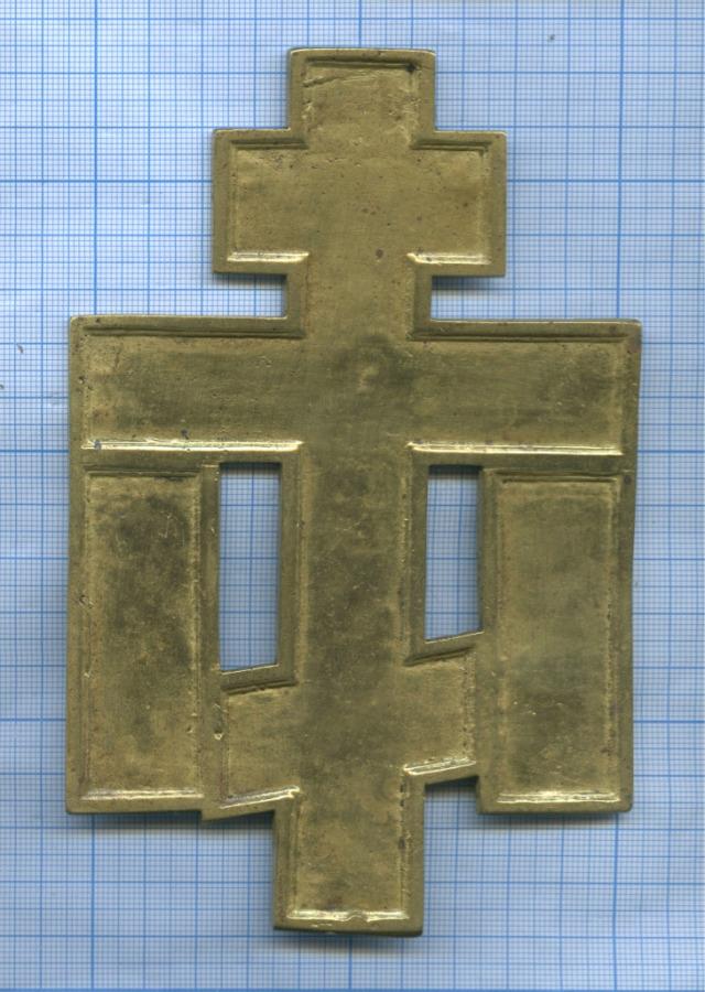 Крест киотный (эмаль)