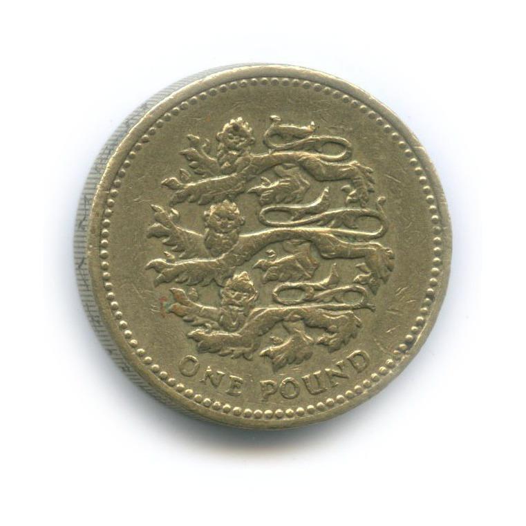 1 фунт 2002 года (Великобритания)