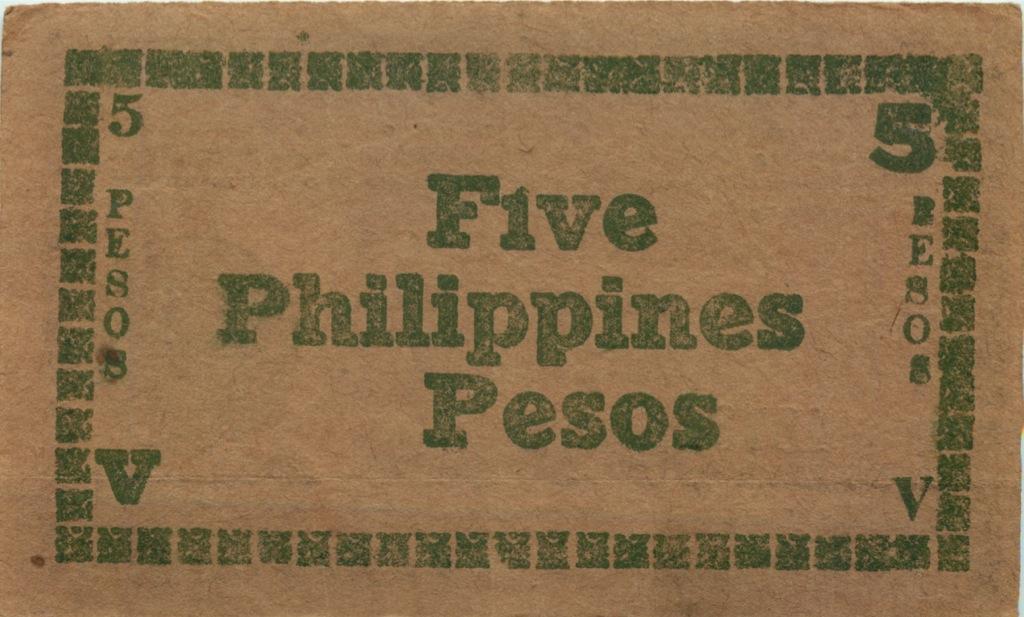 5 песо 1944 года (Филиппины)