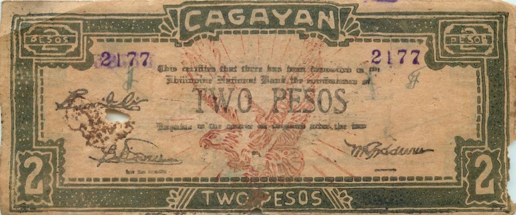 2 песо, провинция Кагаян (Филиппины)