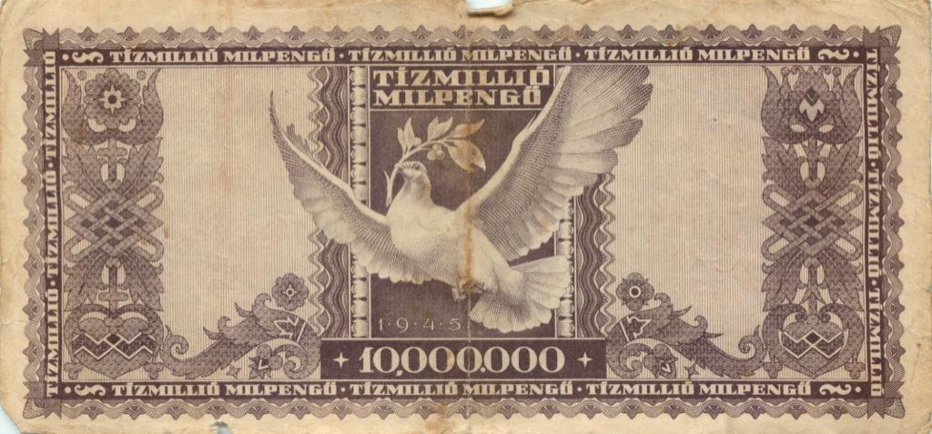 10 миллионов милпенгё 1946 года (Венгрия)