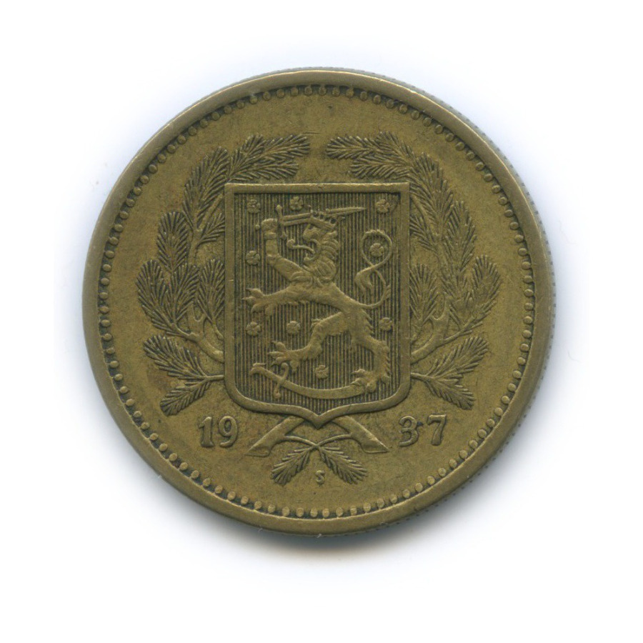 20 марок 1937 года (Финляндия)